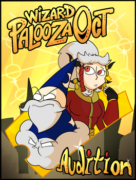 [Wizard Palooza] Audition Title Page by Themeguy