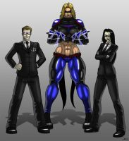 Technocrats and Titans by CerberusLives