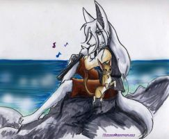 Sea and Song by furry-jackal
