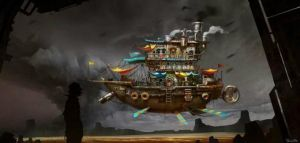 fly ship by heyixin0122