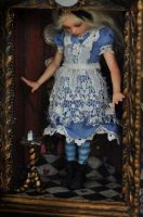 Alice in Wonderland Art doll by SutherlandArt