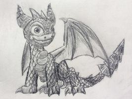 Spyro Sketch by Paleodraw