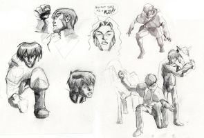 Studies for Triade by innerpeace1979