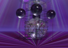Alien Tower of Knowledge by Sazzart1
