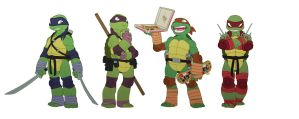 TMNT by shadowstheater