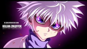 Killua Zoldyck by M-Shu