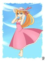 Ciel pink dress by ZA-18