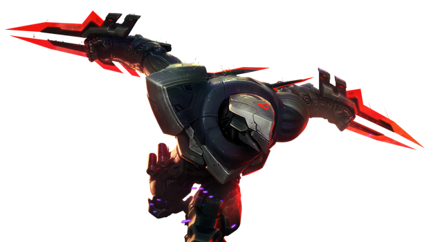 [League of Legends] PROJECT: Zed (Render) by PopokuPinguPop90
