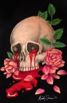 Roses and Blood by xKixii