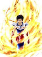 Saint Seiya - Through The Fire And Flames by pepeckt