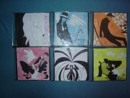 CP9 CD Cover Designs by Puschelhuhn