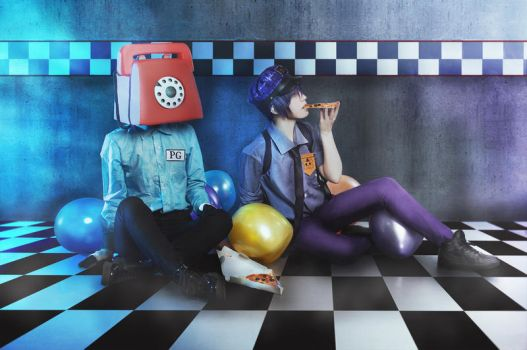 Five Nights at Freddy's cosplay  - 2 by Dokura-chan