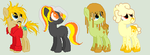 Halloween Pony Adopts 1 [OPEN] Reduced prices by Wheatleys-Adoptables