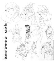 May Doodles 2012 by SonofReorx