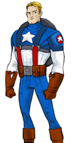 Captain 'Merica by mikeyroberts