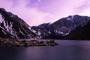 Dusk at Convict Lake by shubat
