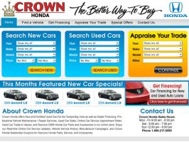Crown Cars Home Page Design 2 by xstortionist