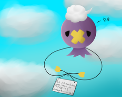 Poke-Shaming | Drifloon by Missing-a-link