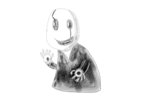 Gaster Doodle by Bouncerr