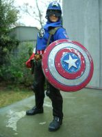 Captain America reporting for duty!! by TBolt66