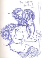 ...marceline with bangs and a bow... by SiXProductions