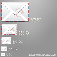 Envelope icon by somboo