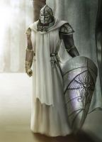 White Knight by sillver-lady