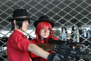 Grell Sebastian Mafia 'Bound for Chicago' by Hirako-f-w