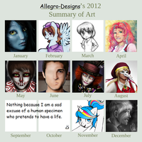 2012 in Review by Allegro-Designs