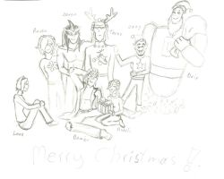 Merry Osmosis Christmas! by ArtemisDragonheart