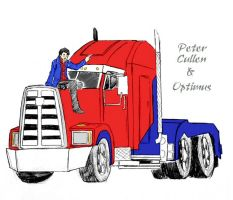 Peter Cullen and Optimus by Autumn123Charlotte