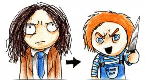 Charles Lee Ray and Chucky by Seal-of-Metatron