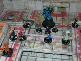 mega mall map heroclix scene by theAngelofRedemption