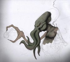 Another Cthulhu WIP by Dsurion