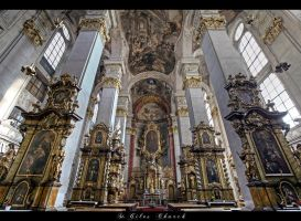 ...St.Giles Church...Prague by erhansasmaz