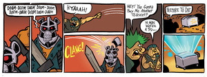 The Great Mashup: Strip 2 by MJRainwater