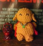 Laughing AmiBuddha [With Free Pattern] by Chudames