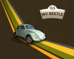A WV Beetle 65 Lover Wallpaper by cloud-no9