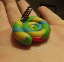 Snake keyring by MeticulousBlue