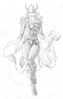 She Thor by Danyllex