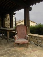 Fauteuil by Flore-stock