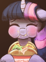 Twilight innoutburger (30minutechallenge) by luminaura