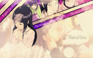 Hinata wallpaper - stronger than ever! by HeroAkemi