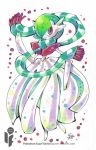 Pokemon Scarf Series: Mega Gardevoir 5/9 by cheru3