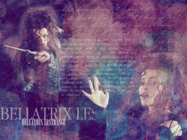 Bellatrix Wallpaper II by MarySeverus