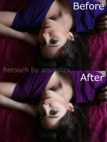 Day 18 Before and After by xmisslizx
