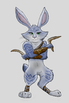 The Easter Bunny by Jayfeather2013