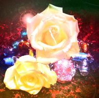 Roses by inkcat