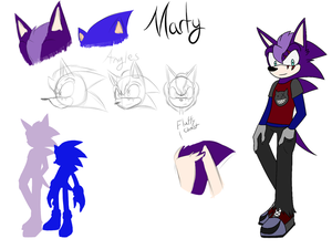 Maurice ''Marty'' the Hedgehog .:CONCEPT:. by ToastyBrain