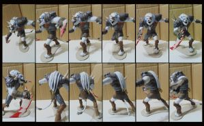 Rengar Re Sculp by KevinTrentin